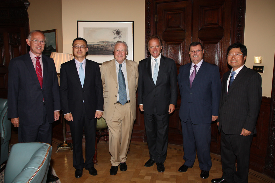 The Network's meeting with Minister of State Hugo Swire