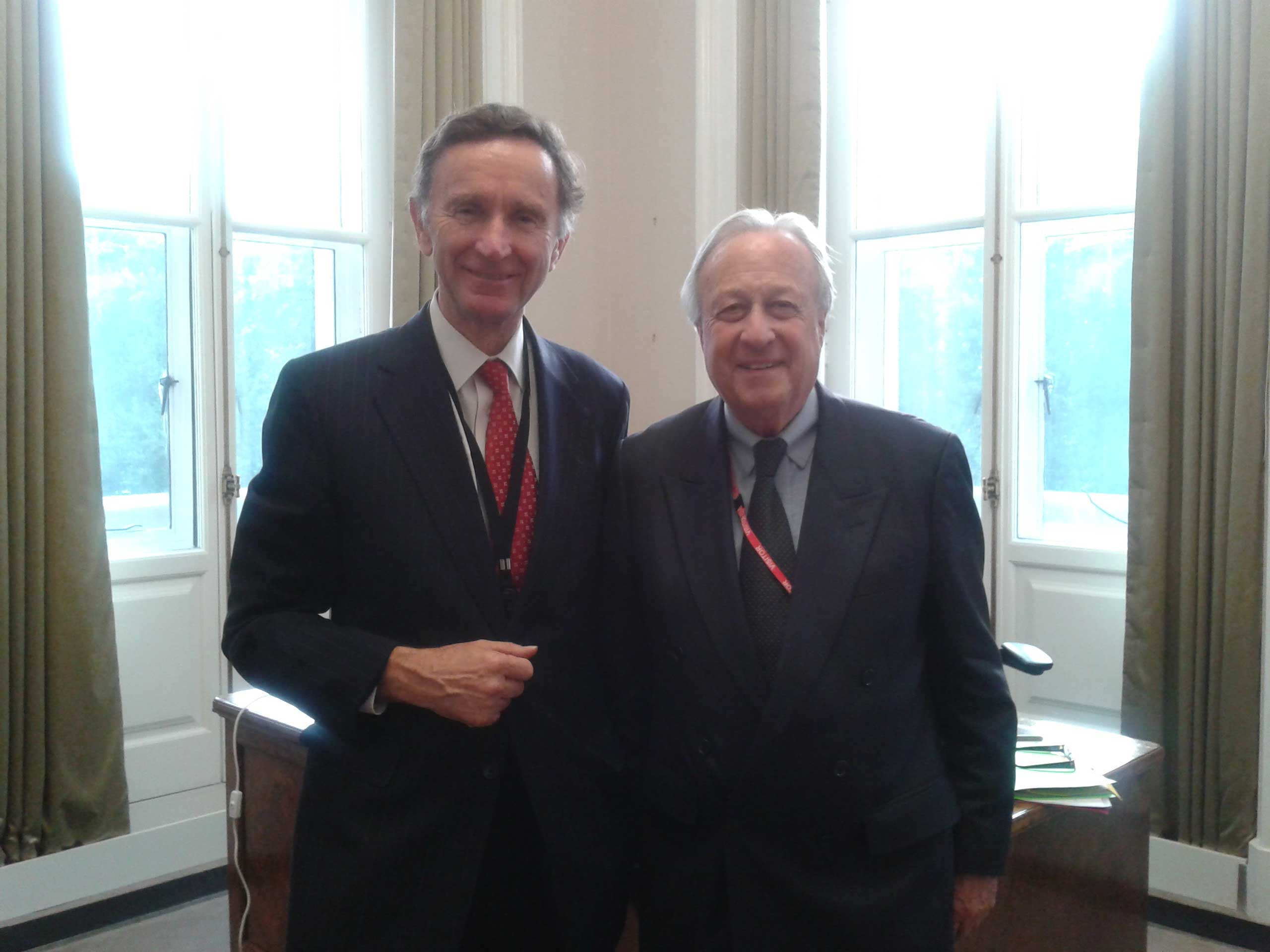 Ben Chapman briefed Lord Green about the Network
