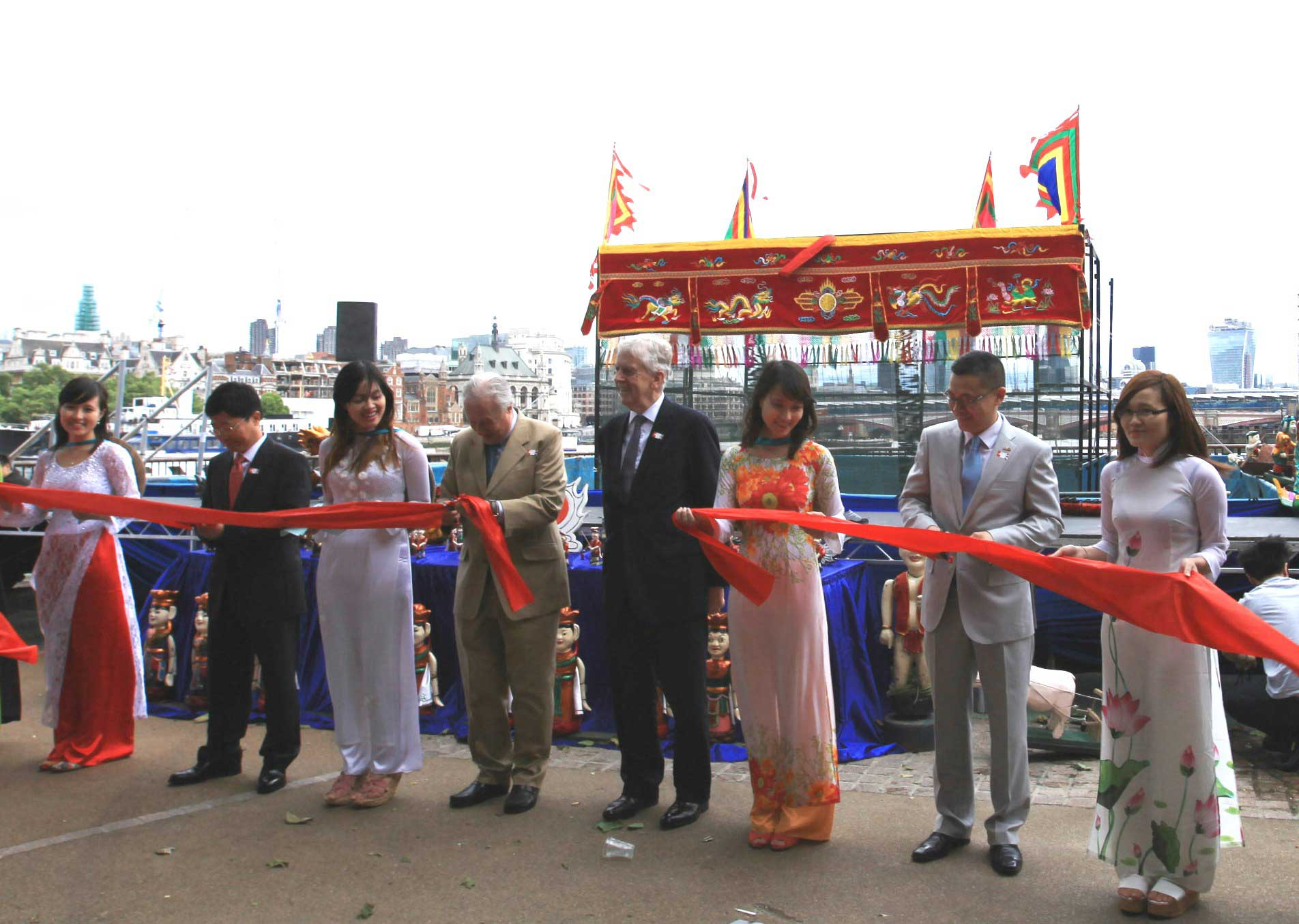 Viet Nam Open Festival (VOF) opened in Southbank