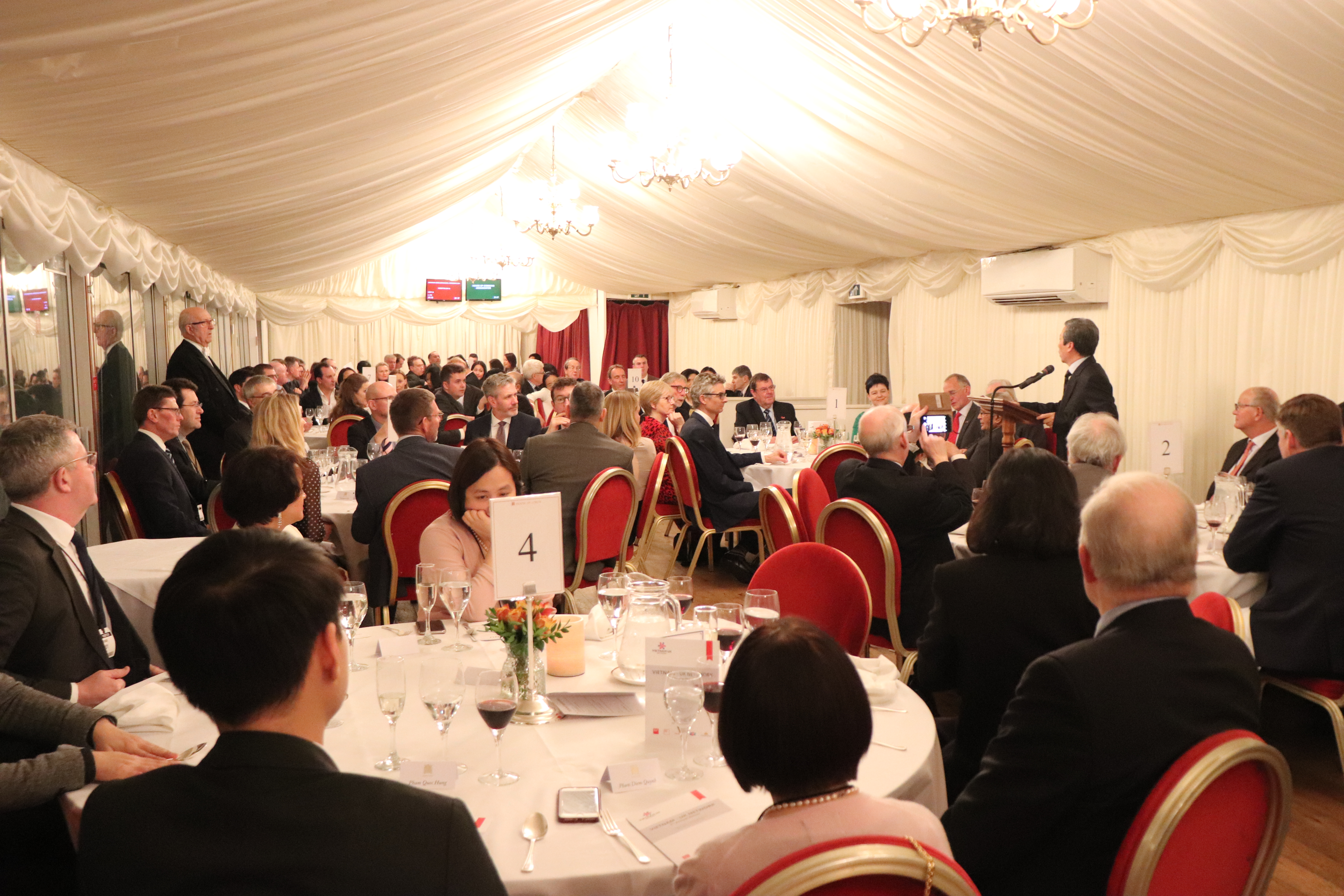 2020 Annual Dinner At The House of Lords